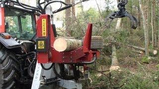 HYPRO 755 Traktorprocessor / Tractor processor / Traktorprozessor