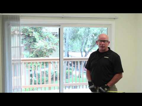 How To Measure - Vertical Blinds