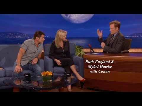 Ruth England & Mykel Hawke with Conan