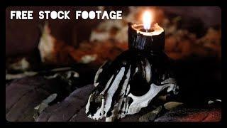 'BLACK MAGIC SKULL' Free Stock Footage