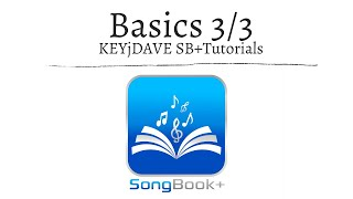 SongBook+ iOSApp Tutorial (Teil 3/3): Basics & Verwaltung;  Songdetails & Notizen
