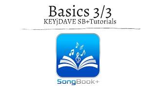 SongBook+ iOSApp Tutorial (Teil 3/3): Basics & Verwaltung;  Songdetails & Notizen