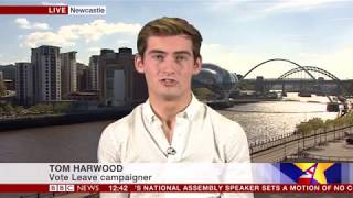 Tom Harwood discussing Boris Johnson