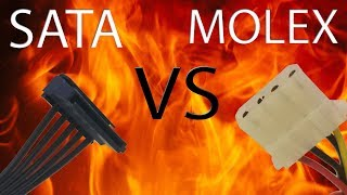 Sata VS Molex Power Explained