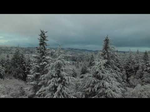 Coos Bay, Oregon Snow