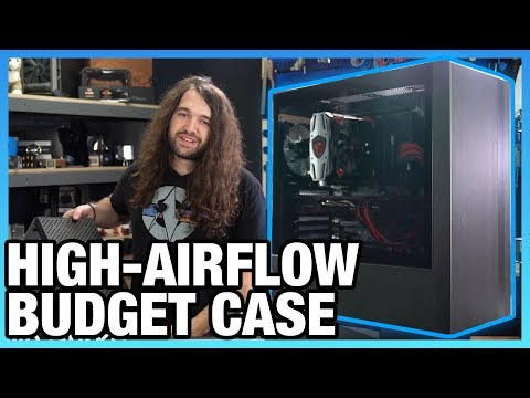 Cooler Master NR600 Case Review: High Airflow on a Budget