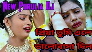 Priya Tumi Ele Bhalobasa Dile | New Purulia Dj Song | Dj Rahul | Sad Dj Song | Heart Broken Mix