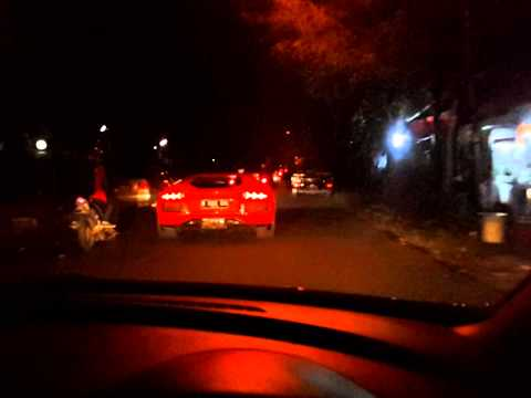 aventador passing through menteng and lombok jakarta on 20140403