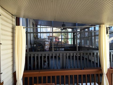 Diy Ceiling Mount Curtain Rod