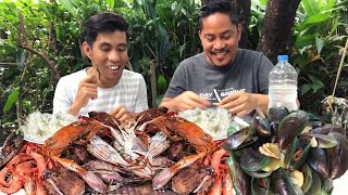 SEAFOOD MUKBANG!!! Filipino Food!!! Pinoy Mukbang!!!