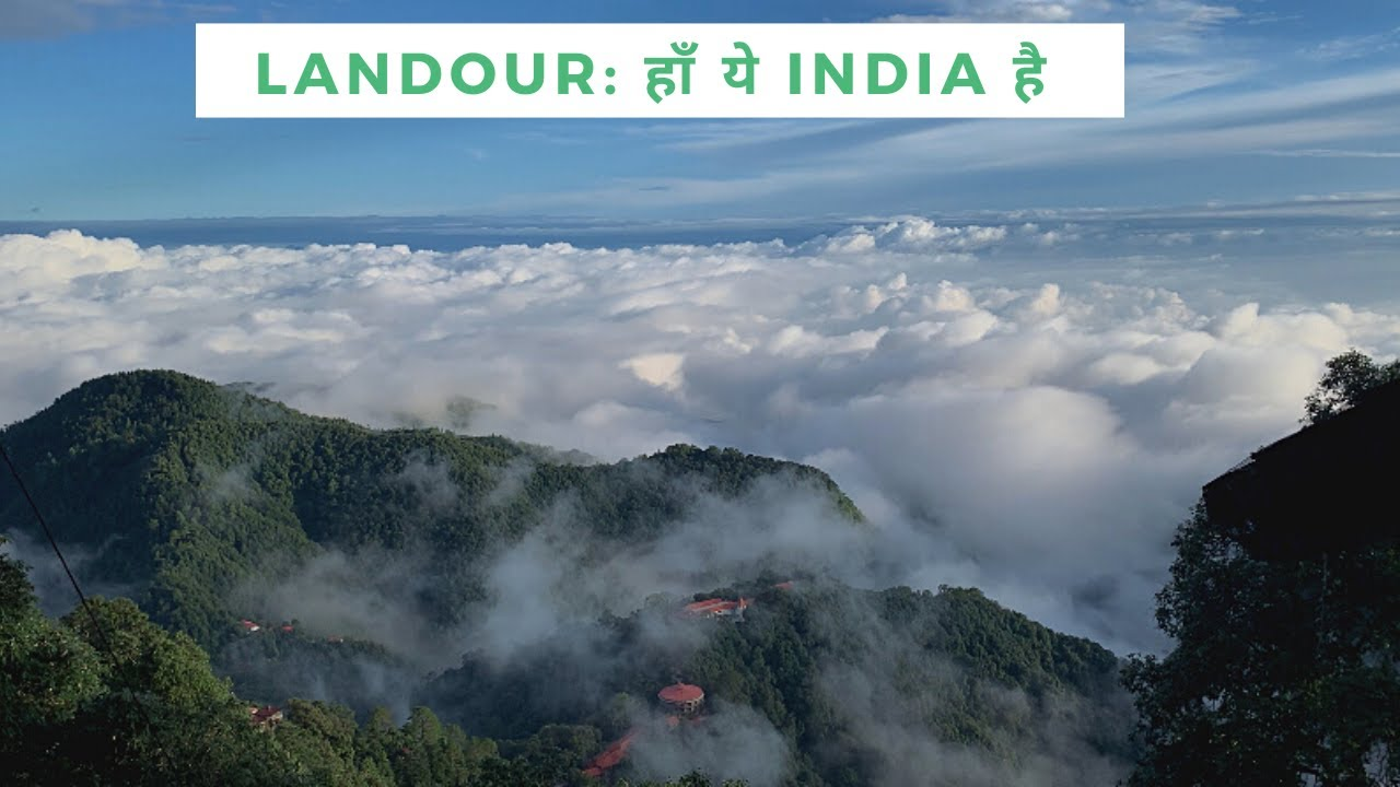 Landour's unmatched beauty   Sunset, monsoon mist, Dehradun valley view