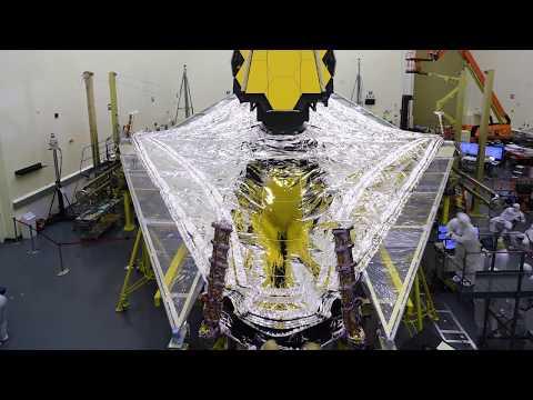 NASA's James Webb Space Telescope Clears Critical Sunshield Deployment Testing