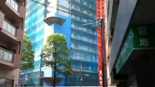 仙台トラストシティ建設現場