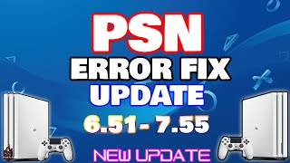 PS4 6.51 SYSTEM SOFTWARE UPDATE FIX ERROR! 6.51 GUIDE (Fix Restore Error, Update Error)