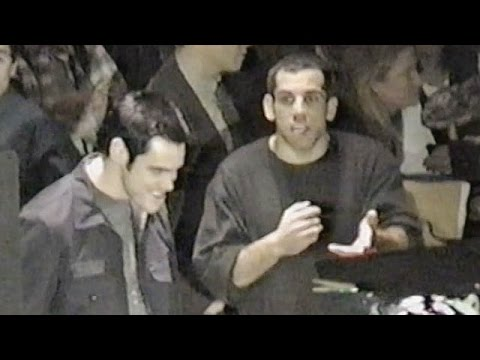 Jim Carrey does Terminator 2 Joke -The Cable Guy BTS