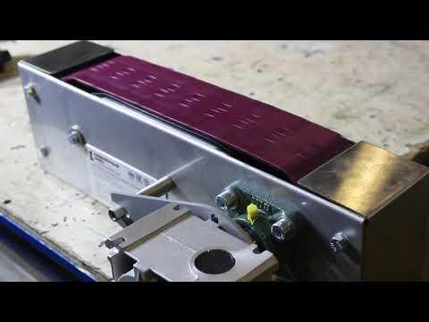 Пластинчатый конвейер для перемещения деталей