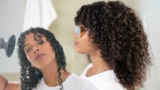 Summer Proof Your Curly Routine & Re-style on DAY 3!