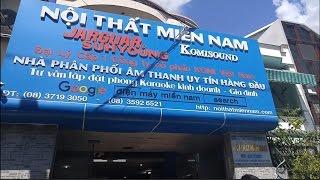 Thành Phố Buồn Chế Karaoke - Miền Nam Audio