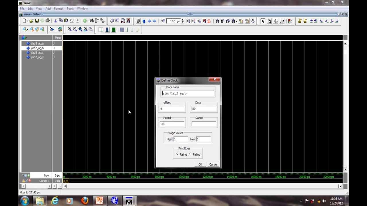 Schematic to Waveform with ModelSim Tutorial © UNITEN