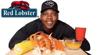 RED LOBSTER ULTIMATE FEAST + DUNGENESS CRAB MUKBANG | EATING SHOW