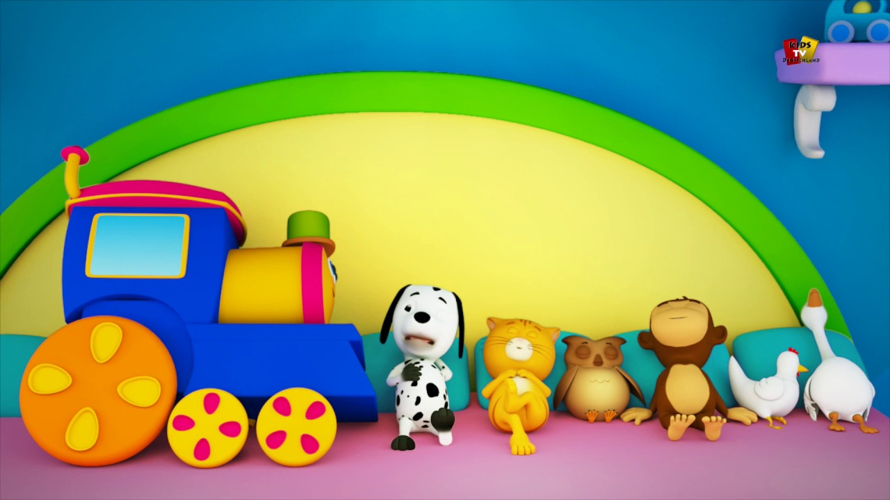 Schlafen Reim Bob Der Zug Zehn Im Bett Baby Reim Bob The Train Preschool Song Ten In The Bed