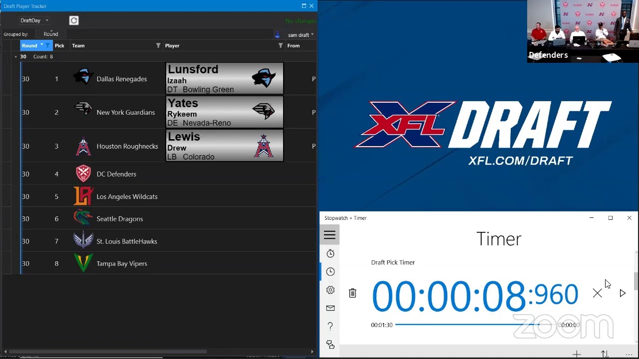 What You Need to Know About the XFL Draft