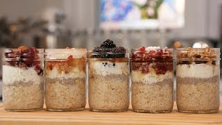 5 More Overnight Oatmeal Recipes