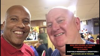 Sheffield Wednesday 2 Brentford 1 - Fans In Bars & On The Terraces