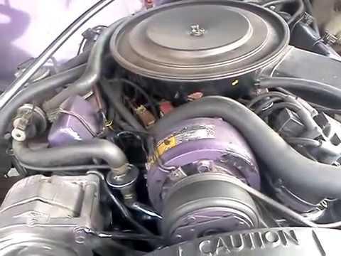 1981 cadillac 368 V8-6-4 engine - YouTube