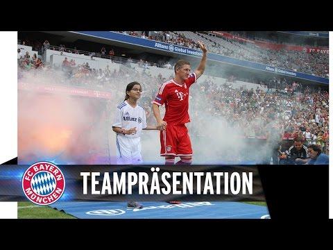 #FCBday1 - Die Allianz FC Bayern Teampräsentation 2014!