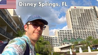 Disney Springs and Flying Back to London