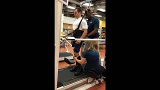 Body Weight Supported Treadmill Training - 'Till I Collapse' - Eminem