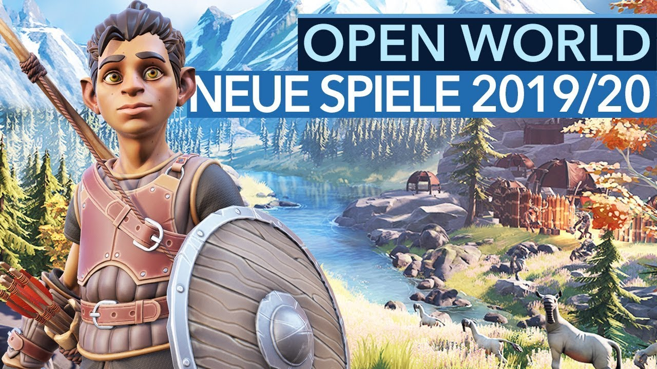 20 kommende Open-World-Games für PC, PS4 & Xbox One