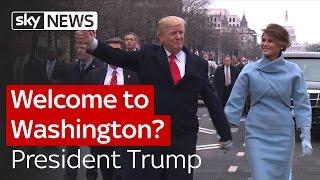 Welcome to Washington? President Trump