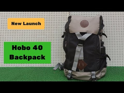 LTP Designs Hobo 40 Litre Smart Travel Backpack - Features & Walk Through