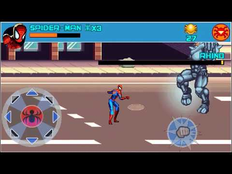 Spider Man: Toxic City - Java  Mobile Game Download