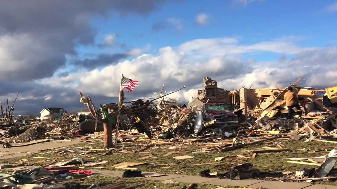 Washington IL Tornado Before and After 11/17/13 - YouTube