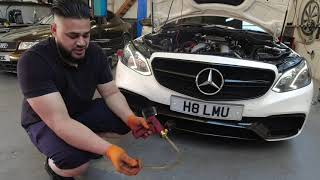 Mercedes E63 AMG has Stage 2 remap + Straight through pipe with Dyno - Certified Remaps