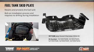 Compatible with 1999-2004 Jeep Grand Cherokee Fuel Tank Skid Plate Cover