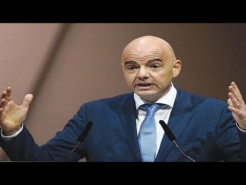 Fifa's Infantino in South Africa for unprecedented meeting