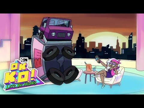 OK K.O. Let's Be Heroes! | Dynamite Watkins Unravels Boxman's Secret | Cartoon Network