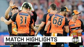 Scorchers overpower Sixers at home