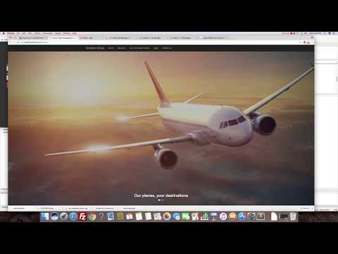 Airport Network Flight Scheduler Management System (Web Development)