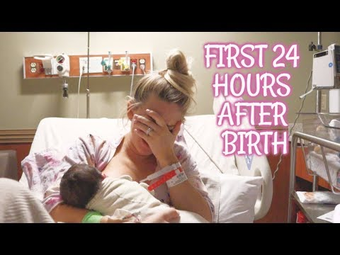 The Very First 24 Hrs of Breastfeeding
