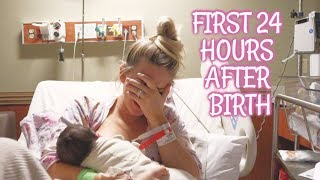 NEWBORN'S FIRST 24 HOURS | WHAT TO EXPECT RIGHT AFTER BIRTH | Aaryn Williams