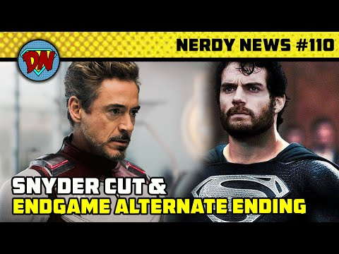 Snyder Cut, Endgame Alternate Ending, Deadpool 3 Delay, Batwoman, Time Travel Suit | Nerdy News #110