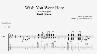 Wish You Were Here TAB - live unplugged acoustic guitar tab - PDF - Guitar Pro(, 2017-08-30T06:26:41.000Z)