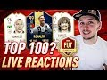 """CAN I SECURE ANOTHER TOP 100 PLACEMENT WITH """"DREAM TEAM""""? - FIFA 19 FUT CHAMPIONS LIVE REACTIONS"""