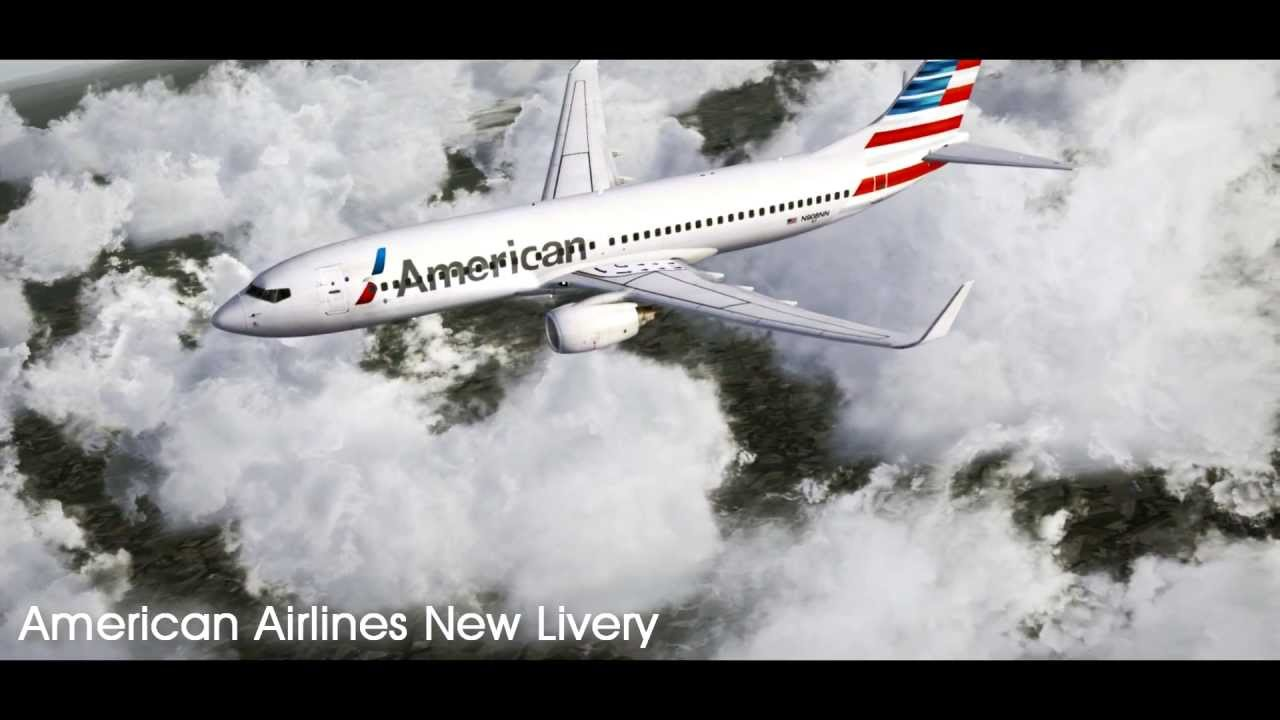 FSX | American Airlines New Livery for the 737NGX (FREEWARE)