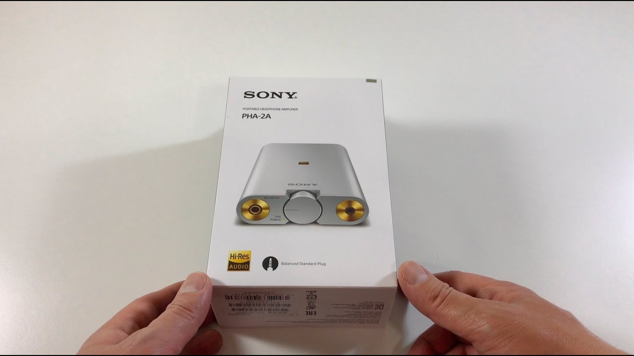 ef761e43e19 NEW: Sony PHA-2A Headphone Amplifier/DAC - YouTube